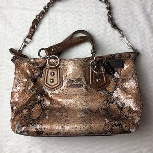 COACH Madison Python/Snakeskin Bag. EUC.